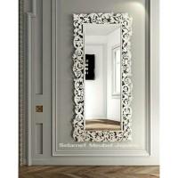 cermin ruang tamu ukir kayu jati cermin hias murah cermin dinding mewa