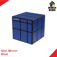 Rubik Mirror Qiyi Blue Rubik Murah
