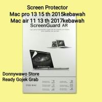 Screen Protector Guard Anti Gores Macbook Retina Pro Air 13 15 11 inch