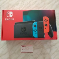 Nintendo Switch Neon New Version Extended Battery HAC-001(-01)