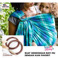 Cuddle Me 2 Pcs Ring DIY Gendongan Samping Cukin Bayi Kuat