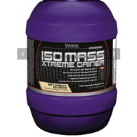 Iso Mass Extreme Gainer Ultimate Nutrition 3.5 lbs