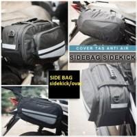 Tas Samping Motor Side Bag Sidebag Universal Bentuk Oval Untuk Bagasi