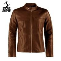 Terbaru jaket kulit mondy Aj/Bigsize/size S M L XL 2XL 3XL 4XL