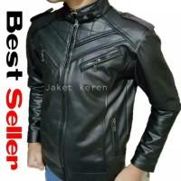 terbaru jaket kulit boy mondy AJ big size S M L XL