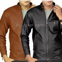 terbaru jaket kulit mondy AJ/ big size/size s m l XL 2xl 3xl 4xl