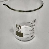 Beaker Glass 50 ml - Gelas Beaker Kaca Kapasitas 50 ML