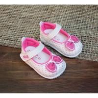 Sepatu Bayi Anak Perempuan Trendy Lembut Bunyi Decit / CK02 Pita