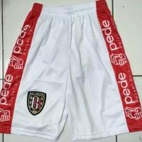 celana bola Bali united putih