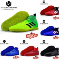 Terlaris Sepatu Futsal Anak Nike Mercurial Cr7 - Adidas Hijau, 35
