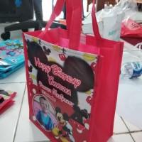 Big Sale Goodie Bag Custom Tas Souvenir Ulang Tahun Ultah Mickey Mouse