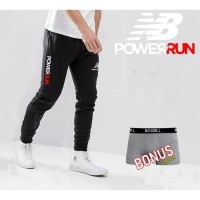 Celana training panjang jogger new balance big size 35 36 37 38 39 40