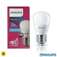PHILIPS Lampu LED MyCare 3W Putih Bohlam LED Bulb My Care 3 W CDL