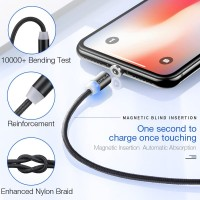 Cabel Charger Cafele LED Magnetic USB Cable