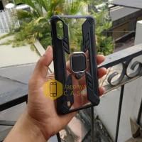 Case Samsung Galaxy M10 Ring Armor Hybrid Leopard