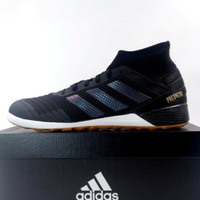 Venya Sepatu Futsal Adidas Predator 19.3 IN Black White F35617 New