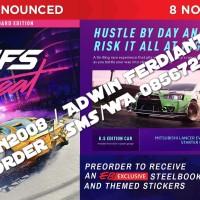 PO - IMPORT - PS4 - Need For Speed Heat + PO BONUS STEELBOOK + DLC +