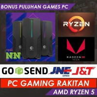 PC Gaming | PC Rakitan Ryzen 5 3400G / 16GB RAM / 120GB SSD / 1TB HDD