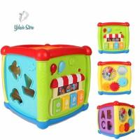 Mainan bayi box puzzle dengan music bentuk piano kecil berbagai ukuran
