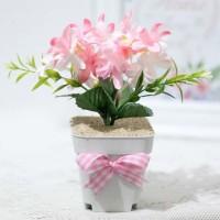 bunga plastik hias artificial artifisial HORTENSIA HYDRANGEA A2-1