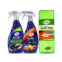 Turtle Wax [BUNDLE] ICE SPRAY WAX + ICE INTERIOR + 3 MICROFIBER