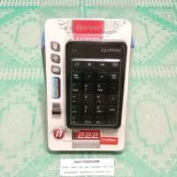 Keyboard Numerik Wireless Cliptec RZK 222 Numpad Keypad Numerik