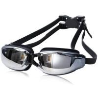 Kacamata Renang Minus 3.5 Anti Fog UV Protection Anti Silau