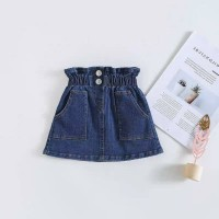 3-4Y Rok Jeans Skirt Anak Perempuan Dk.Navy Made in CHINA