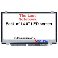 Layar LCD LED Laptop NT140WHM-N31 LP140WHU NT140WHM-N41 LTN140AT35
