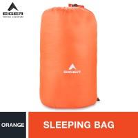 Eiger Sleeping Bag Mummy 250 Orange