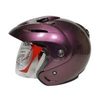 Helm KYT Romeo Black Doff Red Maron White Purple Yellow Yellow Grey