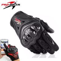 Sarung Tangan Gloves Probiker Full Pro Biker Touch Screen MCS-42