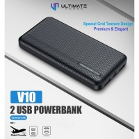 Ultimate Power 2USB Powerbank 10000mAh V10