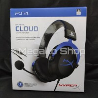HyperX Cloud™ Gaming Headset-PlayStation Official Licensed for PS4