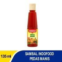Sambal Indofood Pedas Manis Pet 135 ML Bundling 10 PCS