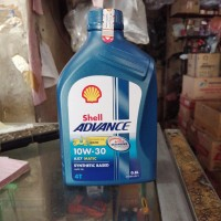 Oli motor Matic Shell matic AX7 10W30 0.8 liter