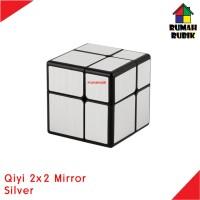 Rubik Mirror 2x2 Qiyi SILVER
