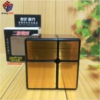 Rubik Mirror 2x2 Qiyi GOLD Rubik Murah