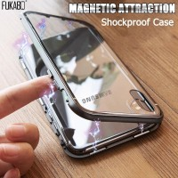 Magnetic Adsorption Case For Samsung Galaxy A50 A70 A7 2018 S8 S9 S10