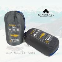 SLEEPING BAG MAKALU ALPINE LITE 1200 FLEECE MODEL ENVELOPE