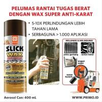 Pelumas Rantai SUPER Anti Karat Tahan Air PRIMO SLICK WAX 300 ml