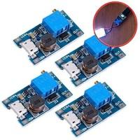 Mt3608 Adjustable Step Up Boost Dc Micro Usb 2A 2V-24V To 5V-28V