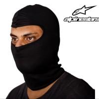 Balaclava Alpinestar Black Masker Full Face Pelindung Muka Helm M