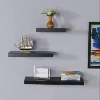 Rak Dinding Minimalis Floating Shelves Paket BBB ISI 3 PCS 30 30 30