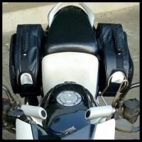 Termurah Tas Samping Motor Side Bag Oval Touring Back Box Biker