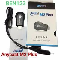 """USB WIFI  WIRELESS ANYCAST EZCAST M2 HDMI DONGLE RECIEVER - HITAM"""""""