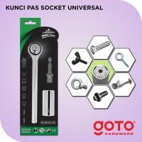 Kunci Pas Socket Universal Gator Grip Soket Sok Wrench Ring Pas Bolt