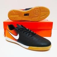Terbaru Paket Murah Berkualitas Sepatu Futsal Nike Tiempo Ic (Black