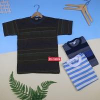 Kaos Salur Anak uk 8-10 tahun / Kaos Salur Anak Tanggung Kaos Murah
