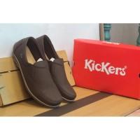 Big Sale Sepatu Slipon Pria Kickers Casual Slip On Santai Murah